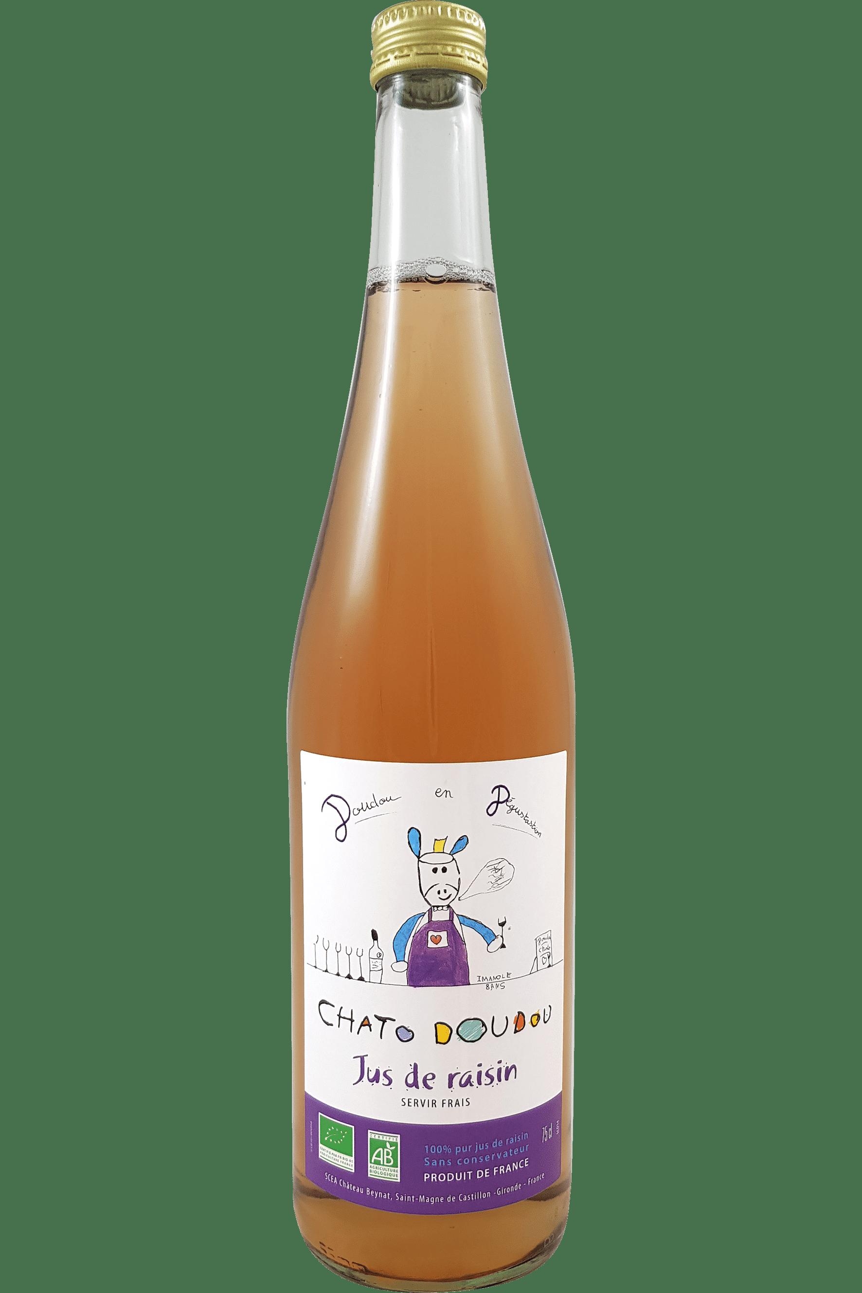 Chato doudou - Jus de raisin bio - Château Beynat