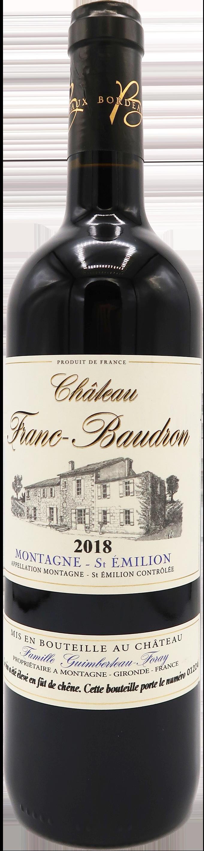 Chateau Franc-Baudron 2018 - Montagne Saint Emilion