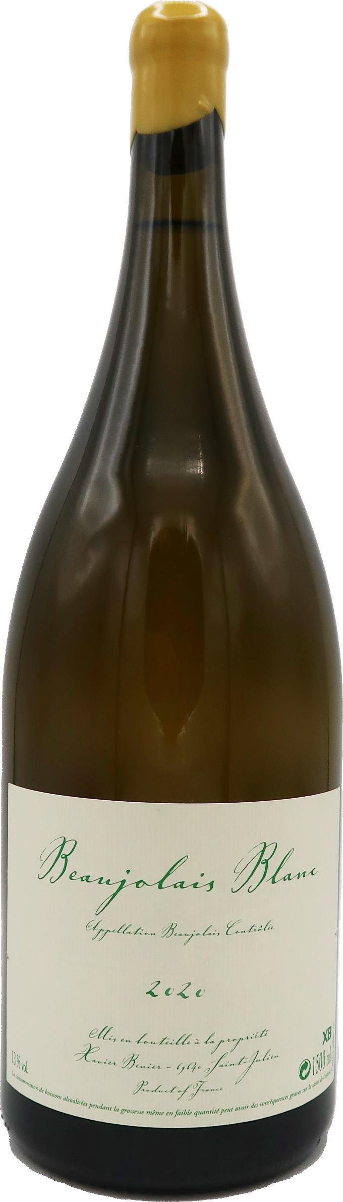Beaujolais Blanc Magnum 2020 - Xavier Bénier