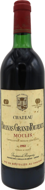 Château Branas Grand Poujeaux 1982 - Moulis