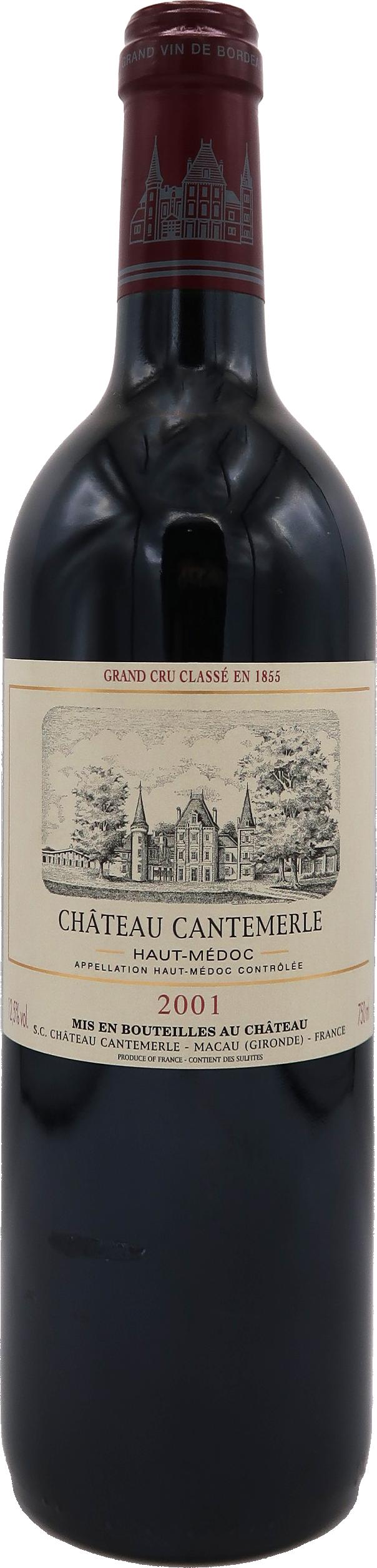 Château Cantemerle 2001
