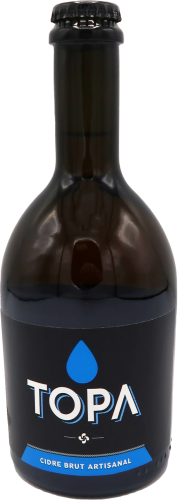Cidre Brut Artisanal TOPA 33cl