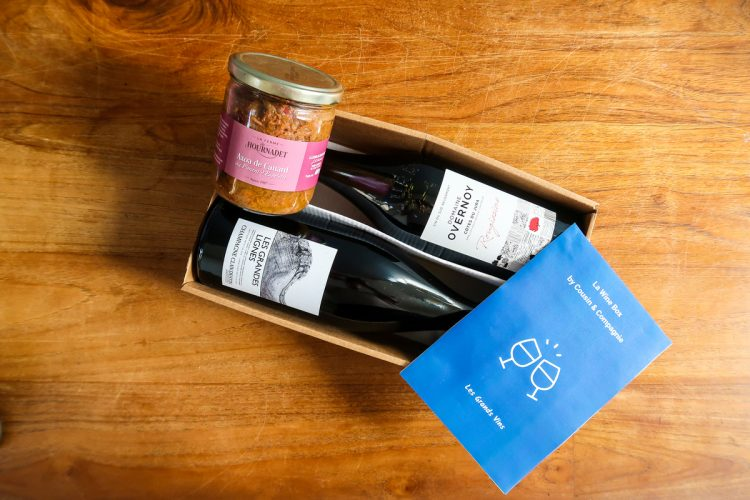 Les Grands Vins - Food and Wine Box
